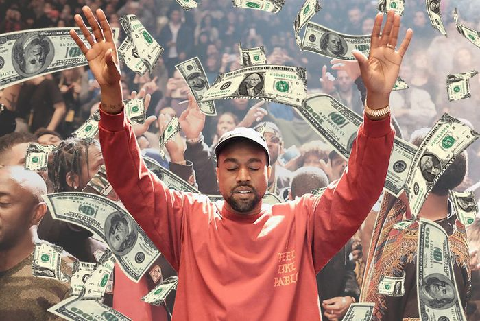 Kanye West Most Monewy In Footwear 1