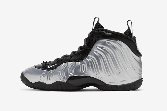 Nike Little Posite One Chrome Lateral
