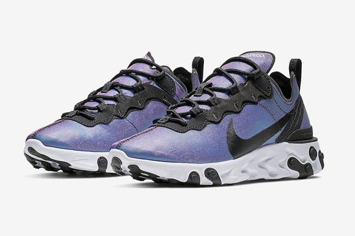 Nike React Element 55 Prm Laser Fuchsia Cd6964 001 Release Date Pair