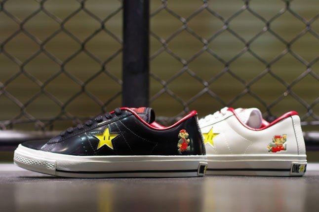 Super Mario Bros X Converse One Star - Sneaker Freaker