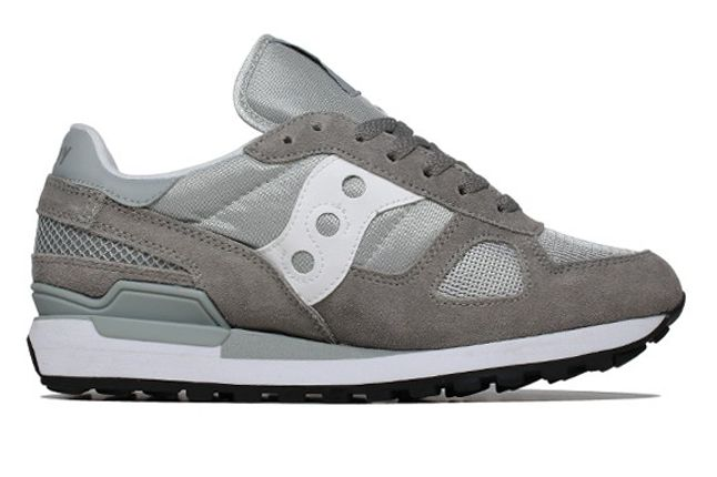 Saucony Shadow Original Grey Side Profile 1