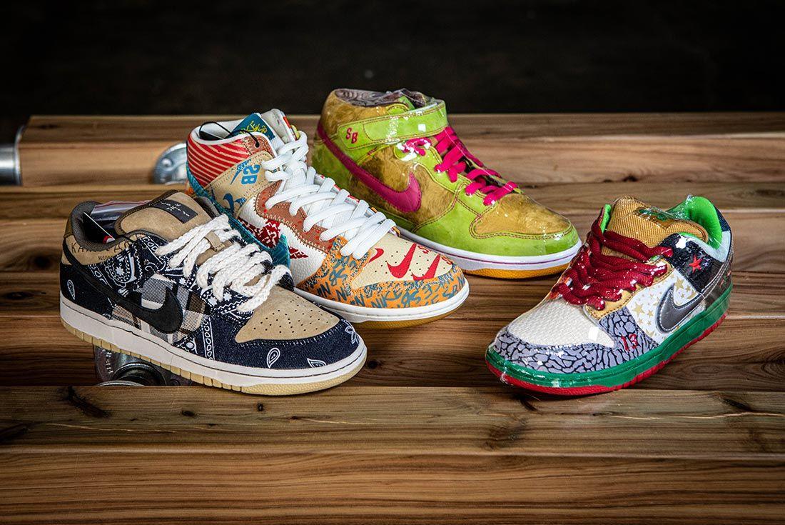 Kickstw Nike Dunk Sb Rare