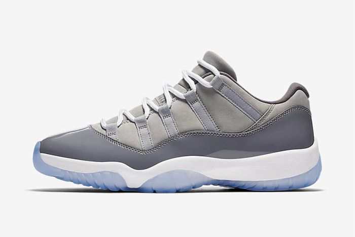 Air Jordan 11 Cool Grey Low 2