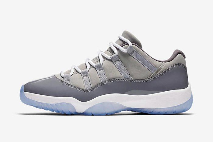 Air Jordan 11 Cool Grey Low 2