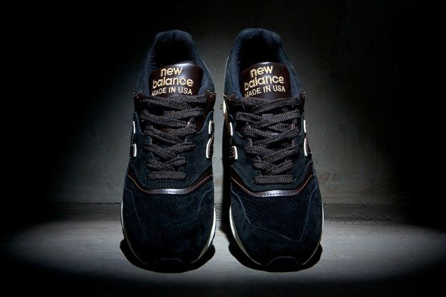 New Balance 997Made In Usa Black 9
