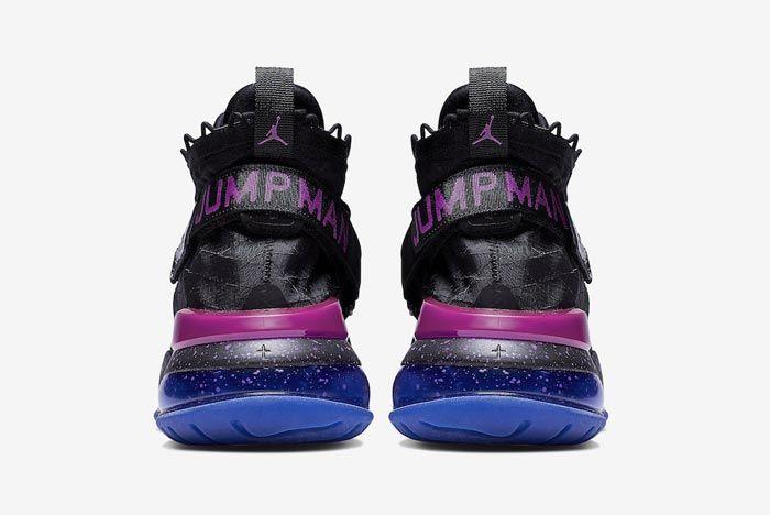 Jordan Proto Max 720 Navy Purple Heels