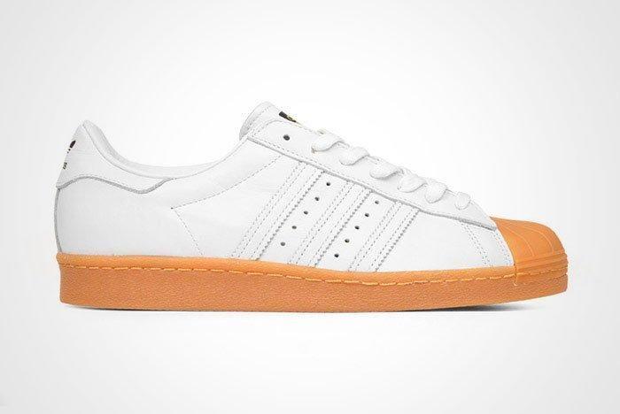 Adidas Originals Superstar 80 S Dlx White Gum Thumb