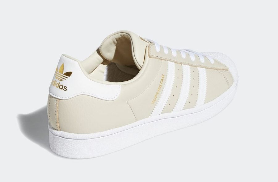 adidas Superstar Clear Brown Heel