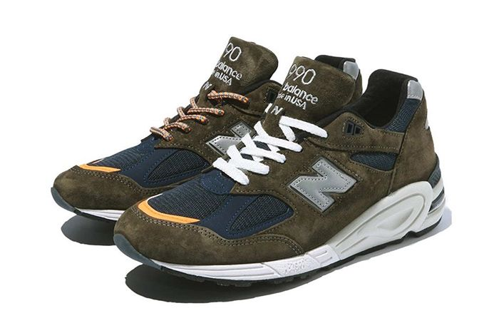 Shawn Yue Madness New Balance 990V2 Brown Release Date Pair