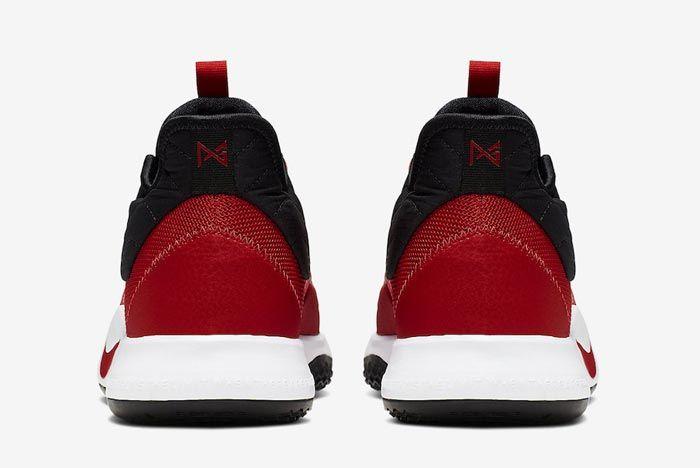Nike Pg3 University Red Heels