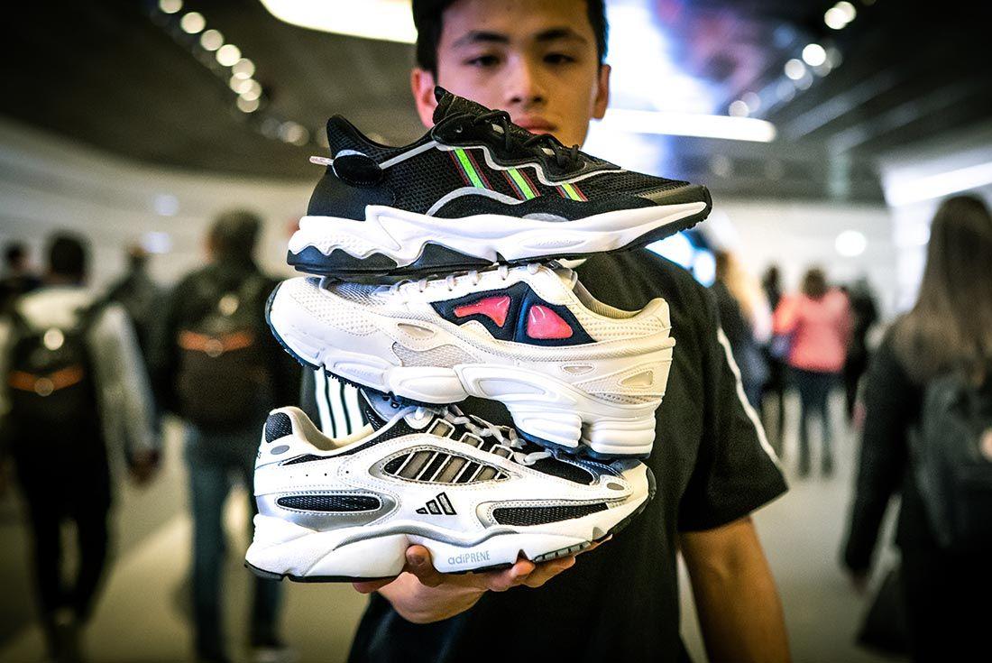 Jemuel Wong Adidas Ozweego Pile