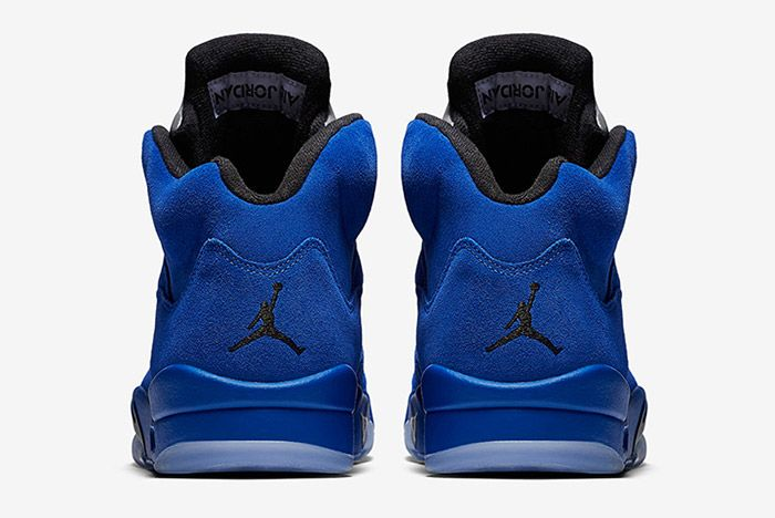 Air Jordan 5 Blue Suede 2