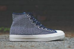 Converse Chuck Taylor All Star Hi Premium Knit Nvy Wht Dp