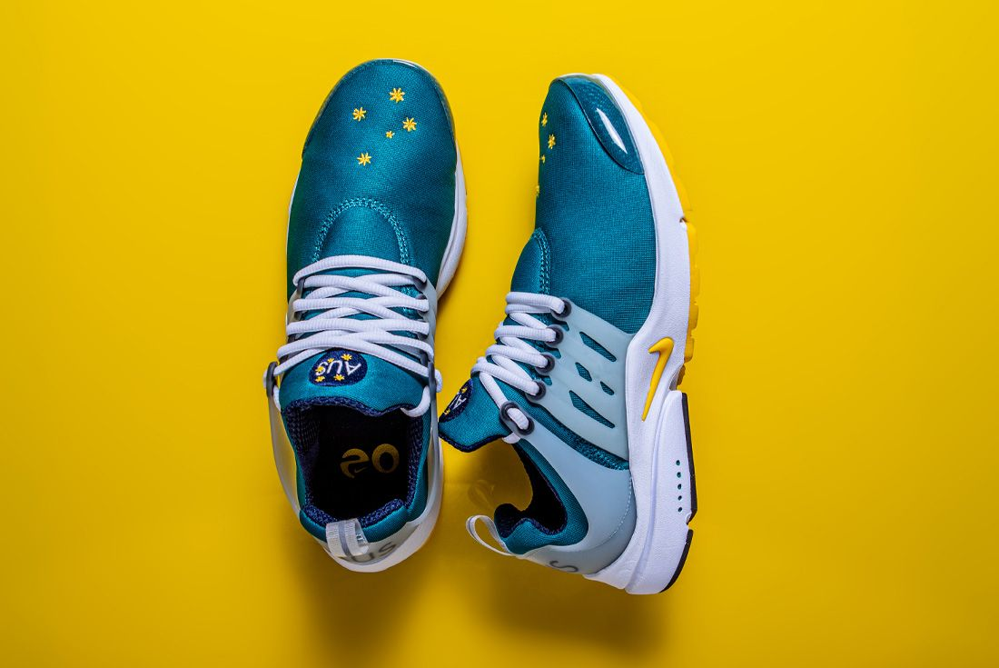 2020 Nike Air Presto Australia Olympic Retro Side
