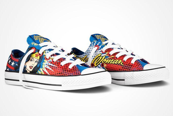 Dc Comics X Converse Chuck Taylor All Star ' Wonder Woman' 2012 Present8