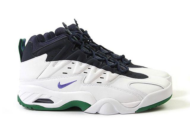 Nike Air Flare Persian Violet Green 5