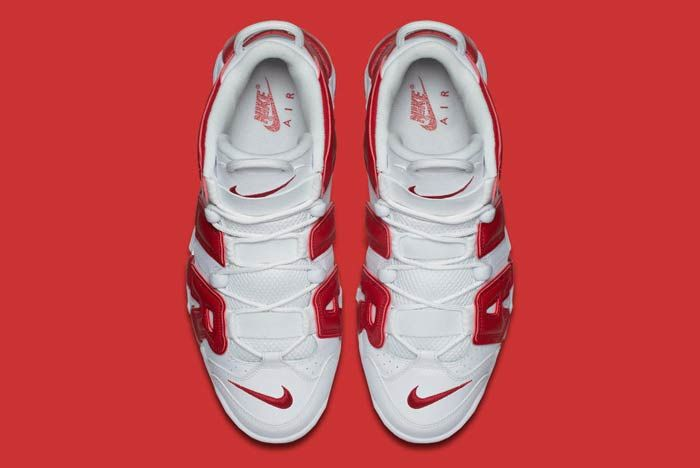 Nike Air Uptempo Red 4