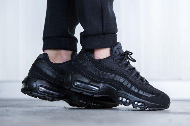 Triple Black Is Back On The Air Max 95