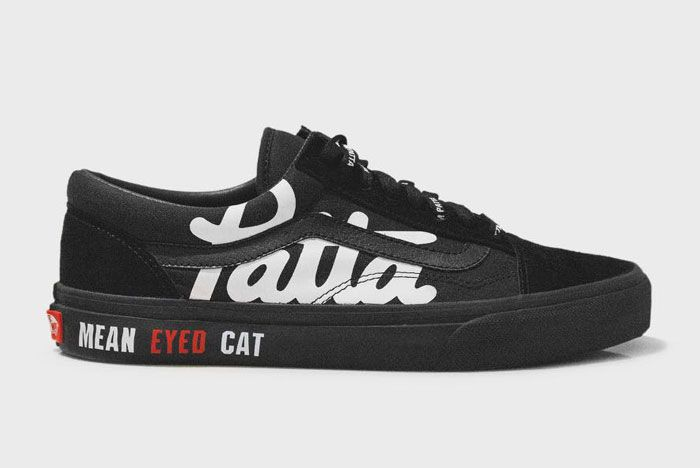 Patta X Beams X Vans Mean Eyed Cat Lateral Side