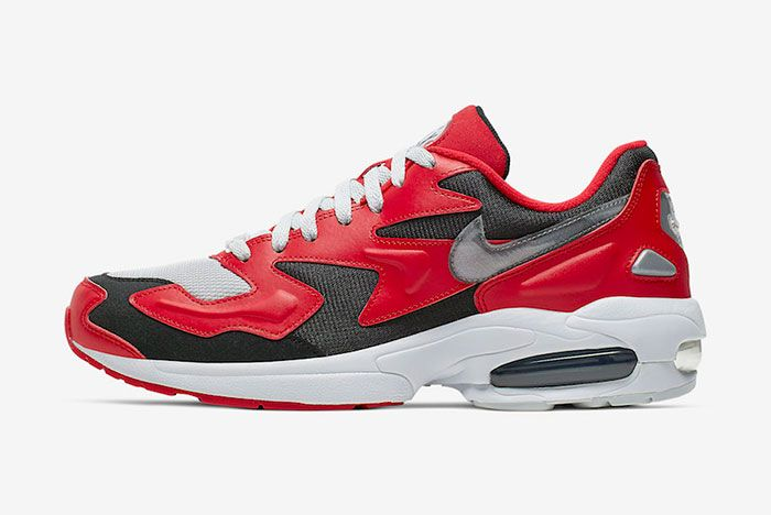 Nike Air Max2 Light University Red Ao1741 601 Release Date Side