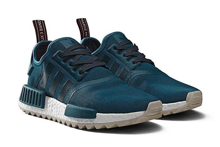 Adidas Nmd R1 Trail Womens Blue 2
