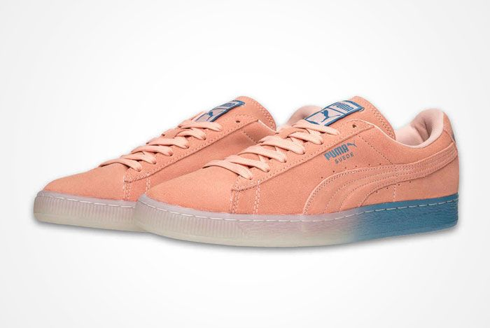 Puma X Pink Dolphin Suede Pack 4