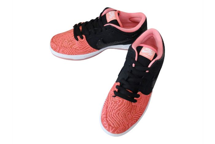 Premier X Nike Sb Dunk Low Salmon Toe5