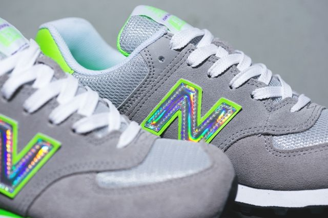 New Balance 574 Hologram Pack 3