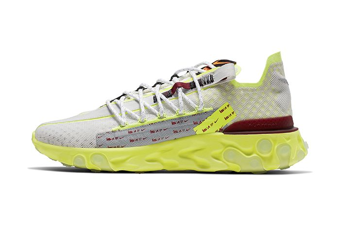 Nike React Runner Ispa Summer 2019 Volt Release Date Lateral