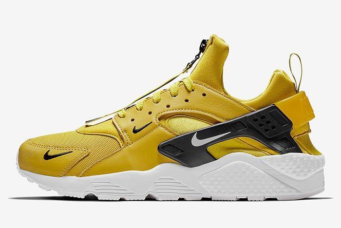 Nike Air Huarache Zip Yellow 2