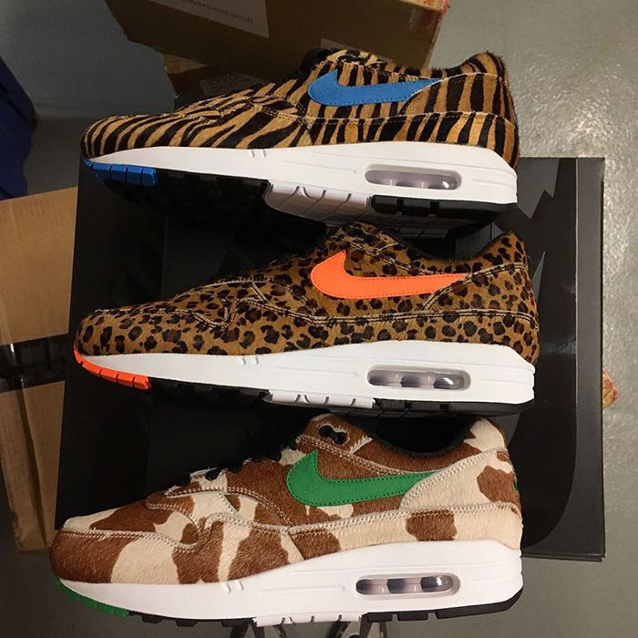 Atmos Nike Air Max 1 Animal 3 Group