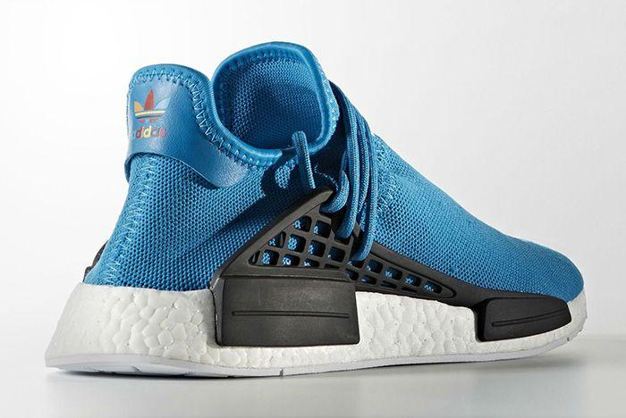 Pharrell Williams X Adidas Hu Nmd Blue4