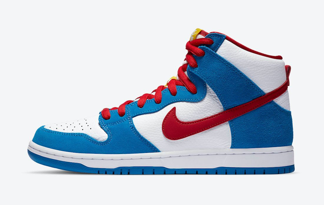 Nike SB Dunk High Doraemon Left