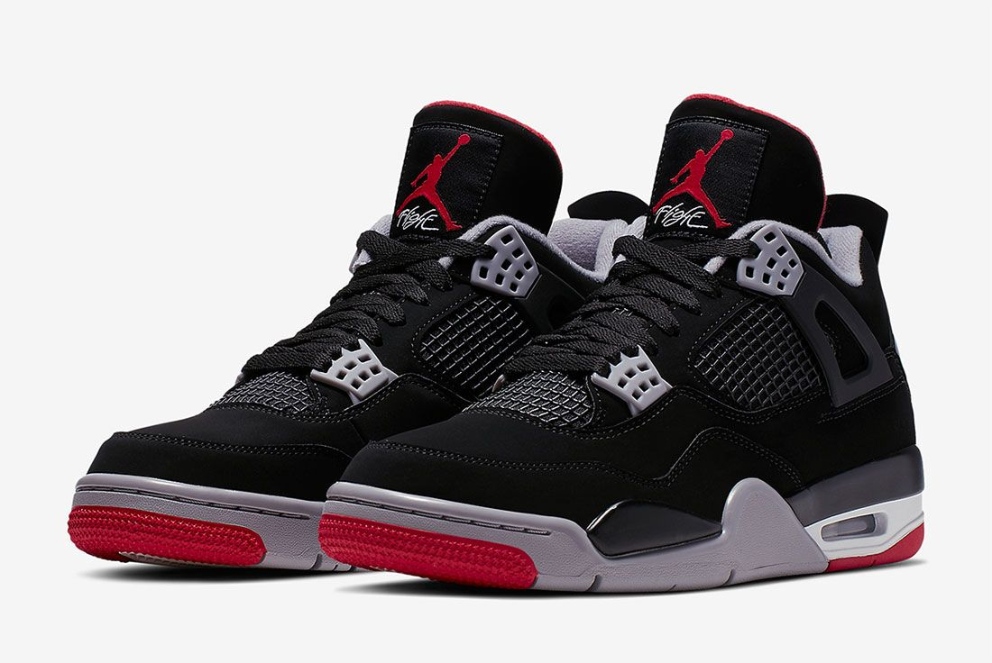 Error cuello Aplaudir  Where to Buy the Air Jordan 4 'Bred' - Sneaker Freaker