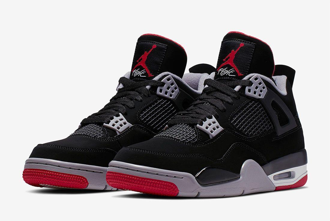 Air Jordan 4 Bred Where To Buy