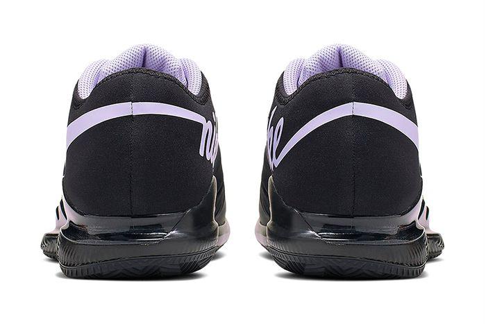 Nike Air Zoom Vapor X Glove Black Purple Bq9663 001 Release Date Heel
