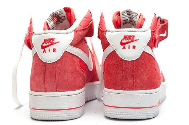 Nike Air Force 1 Mid Fusion Red 1