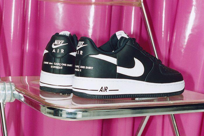 Supreme Comme De Garcons Shirt Nike Air Force 1 1