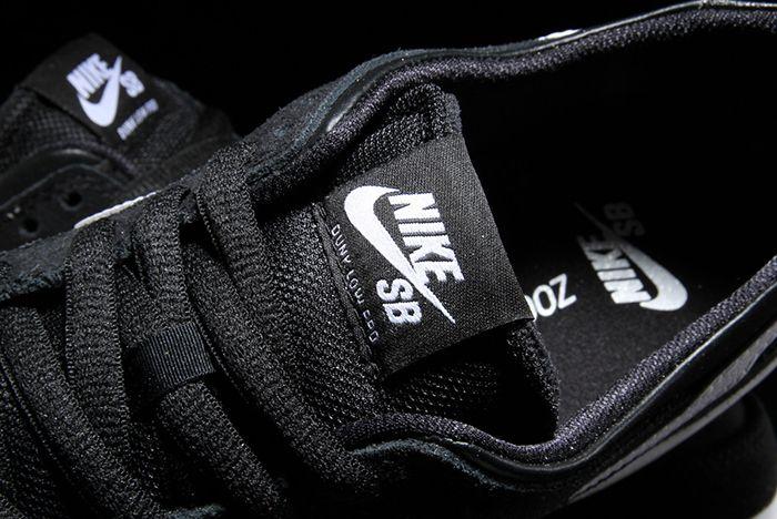 Nike Sb Dunk Low Black Gum3