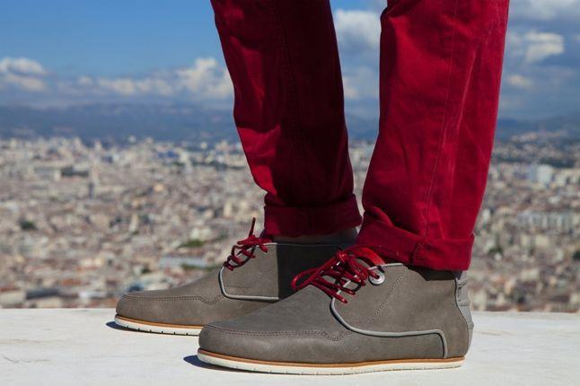 Vico La Mediterranee Grey With Red Pants 1