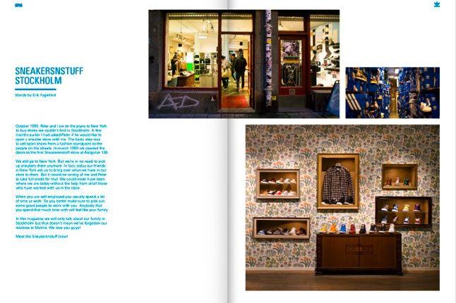 Sneakersnstuff Adidas Book Stockholm 1