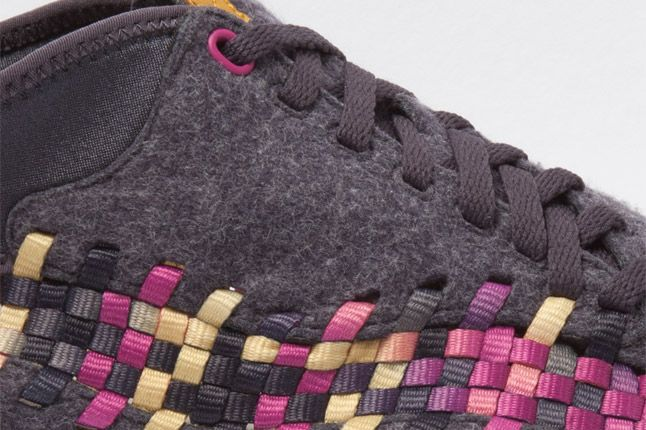 Nike Footscape Woven Chukka Gold Purple Wool Lacing 1