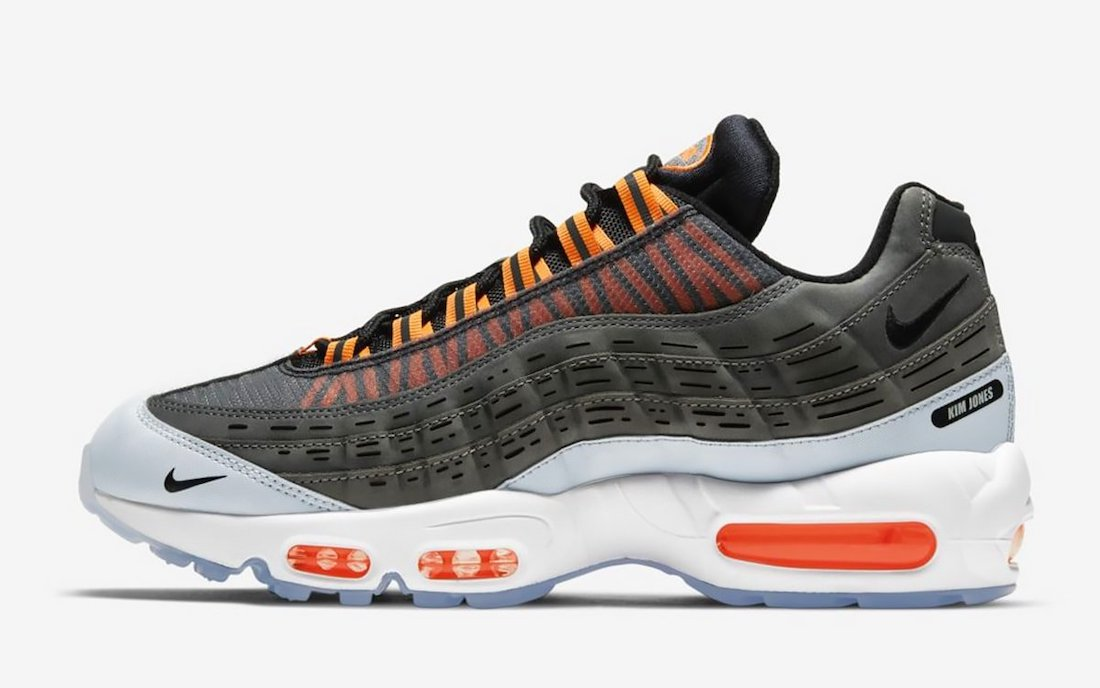 Kim Jones Nike Air Max 95 Dior Orange