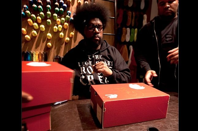 Uestlove Nike Dunk High Mercer Street Launch 1 1