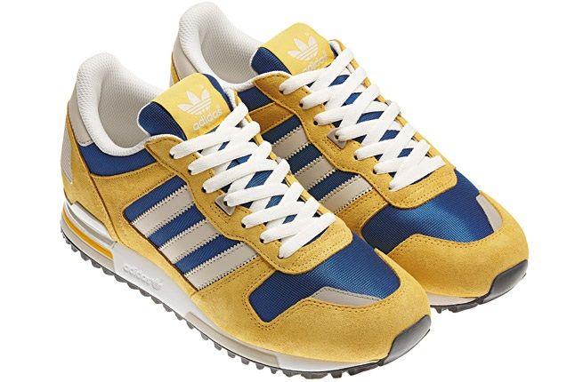 Adidas Originals Spring Summer Yellow Blue Angle 1