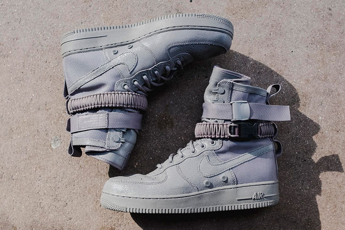 Nike Sf Air Force 1 Grey 2