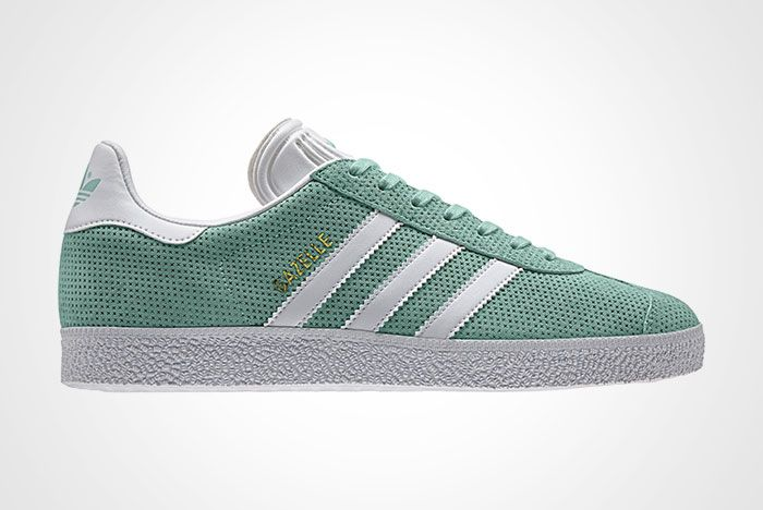 Adidas Gazelle Perforation Green Thumb