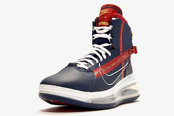 Nike Air Max 720 Saturn Midnight Navy Ao2110 400 Release Date 1 Front