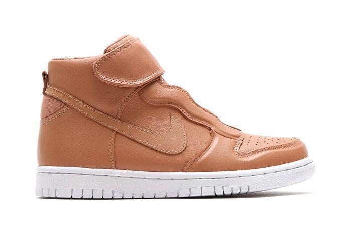 Nike Dunk Hi Ease Womens Tan 2
