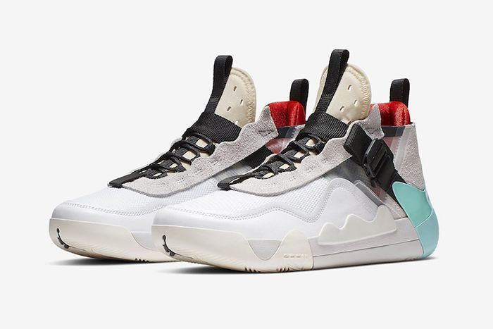 Jordan Defy Sp White Island Green Infrared Cj7698 100 Release Date Pair